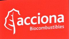 Gasolinera ACCIONA BIOCOMBUSTIBLES